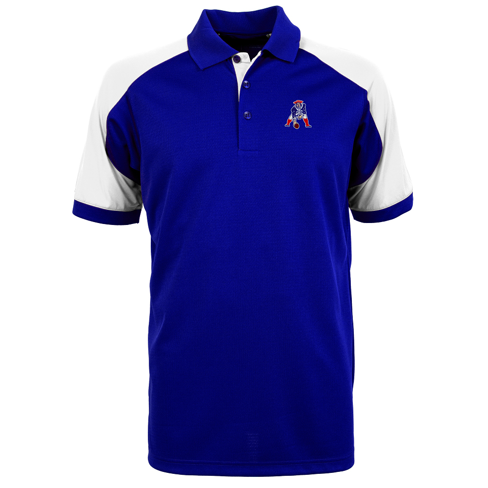 Antigua Century Throwback Polo-Royal
