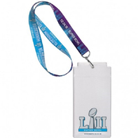 Super Bowl LII Ticket Lanyard
