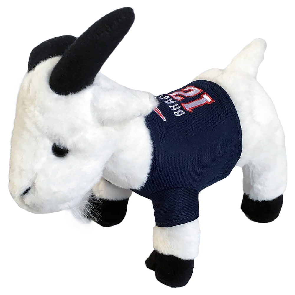 Brady The Goat Plush Toy Patriots Proshop