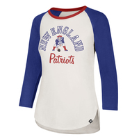 Ladies '47 Throwback Script Raglan Tee