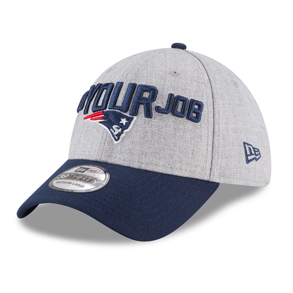 New Era 2018 39Thirty Flex Draft Cap - Patriots ProShop 899cd7777b3