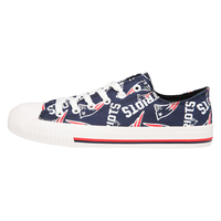 Ladies Repeat Logo Canvas Shoe
