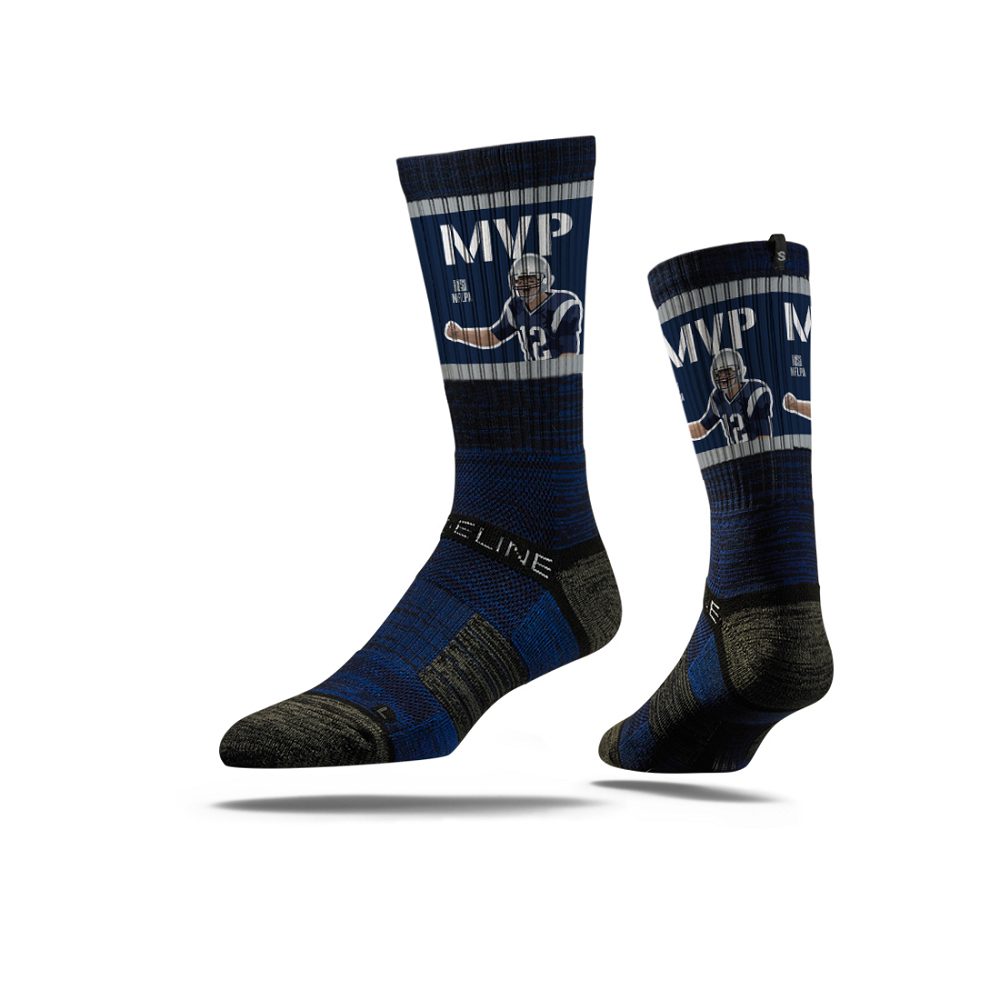 Tom Brady MVP Crew Socks