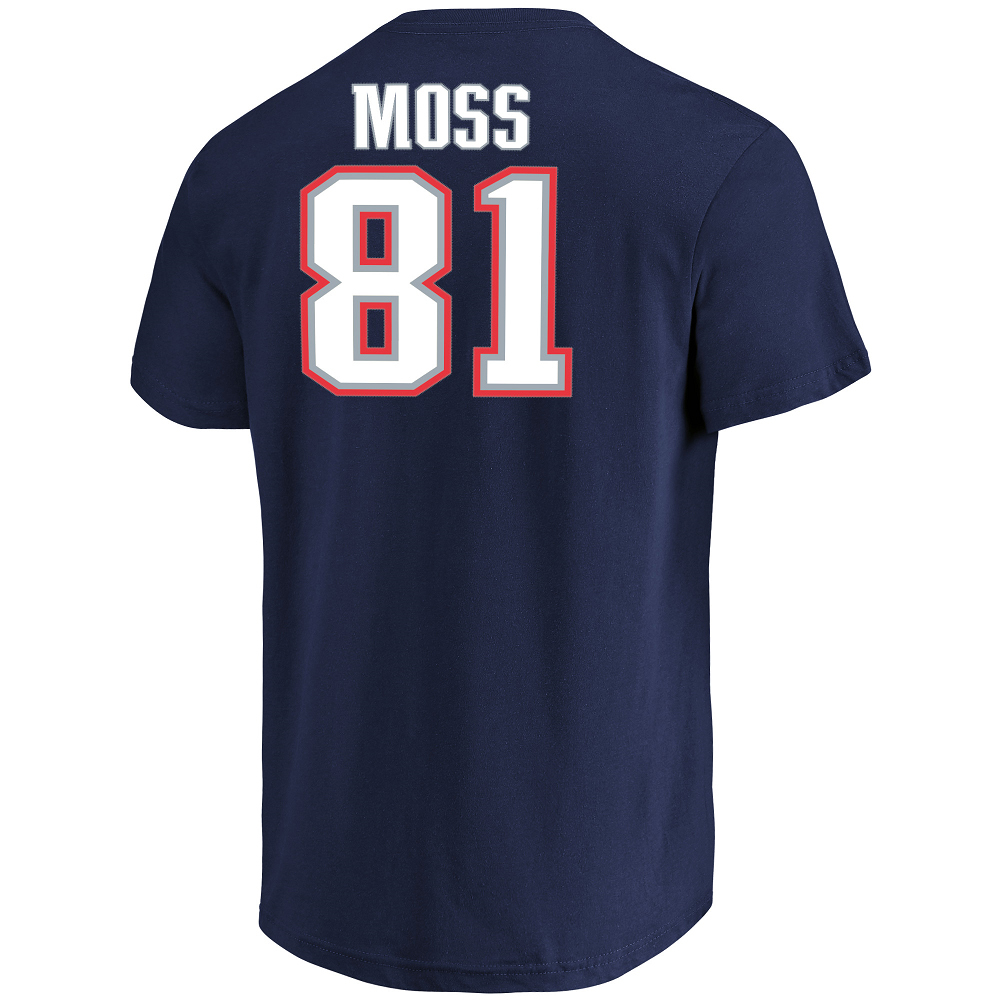 new style 31d7c 9944e Randy Moss Hall of Fame Name and Number Tee