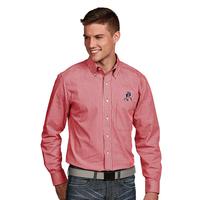 Antigua Associate Throwback Long Sleeve Woven Shirt