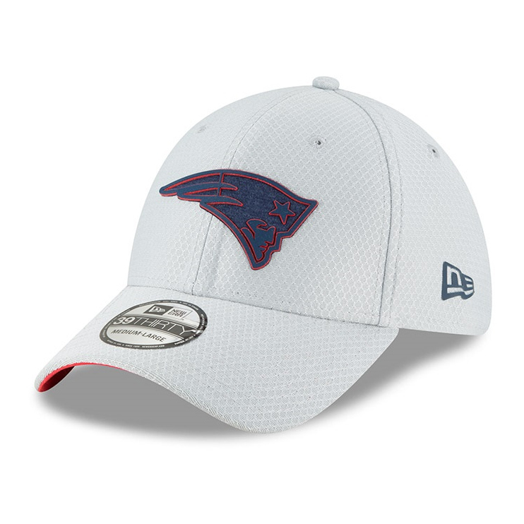 M//L NEW ENGLAND PATRIOTS 39THIRTY CAP HEATHER