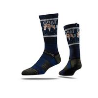 Tom Brady GOAT Socks