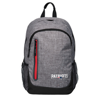 Heather Gray Logo Backpack