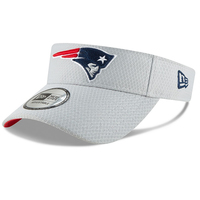 New Era 2018 Training Visor-Gray
