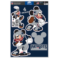 Mickey Mouse Player Sticker Sheet