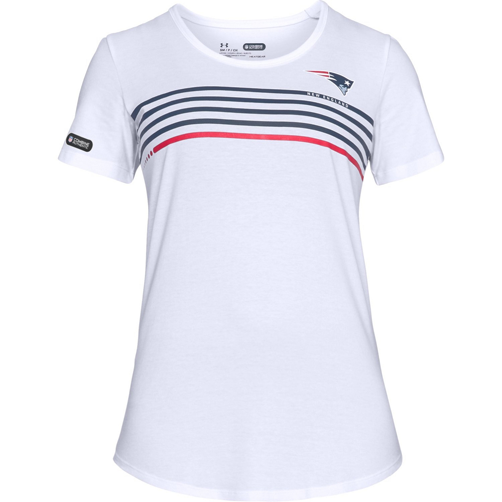 Ladies Under Armour Chest Stripe Tee