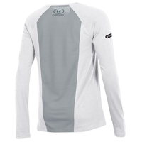 Ladies Under Armour Dot Stripe Long Sleeve Tee