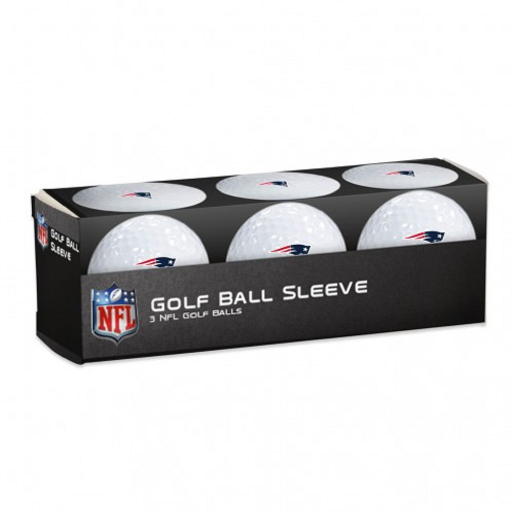 3pk Sleeve Logo Golf Balls