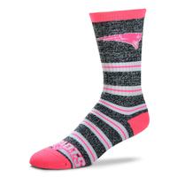 Ladies Melange Stripe Sock