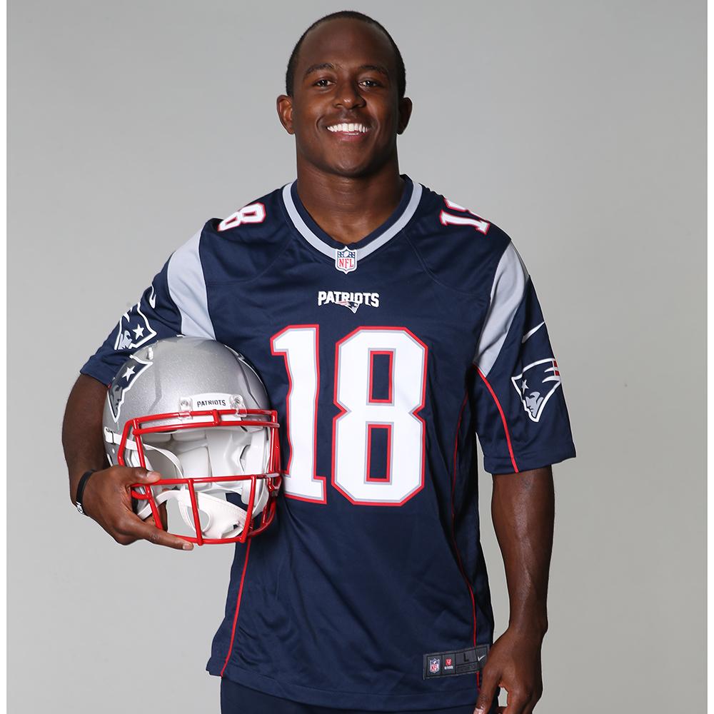 1de99162 Nike Matthew Slater #18 Game Jersey-Navy - Patriots ProShop