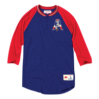 Mitchell + Ness Throwback Button Henley