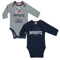 Newborn Long Sleeve Bodysuits-2pk