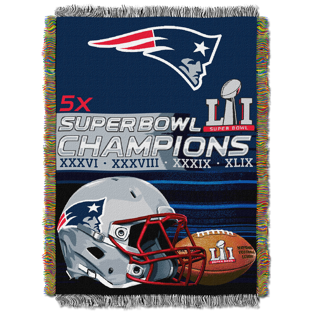 5X Champions Tapestry Throw Blanket