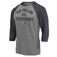 Fanatics New England vs. Everybody Raglan