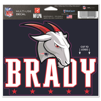 Tom Brady GOAT Multi Use Decal