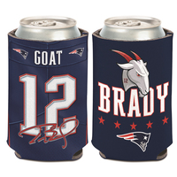 Tom Brady GOAT Can Cooler