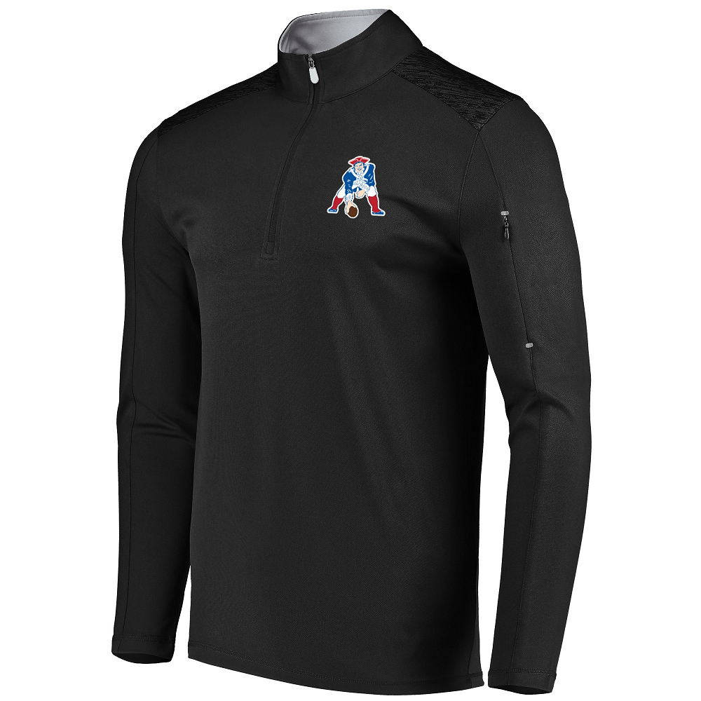 Majestic Throwback Ultra Streak 1/4 Zip Top-BIG