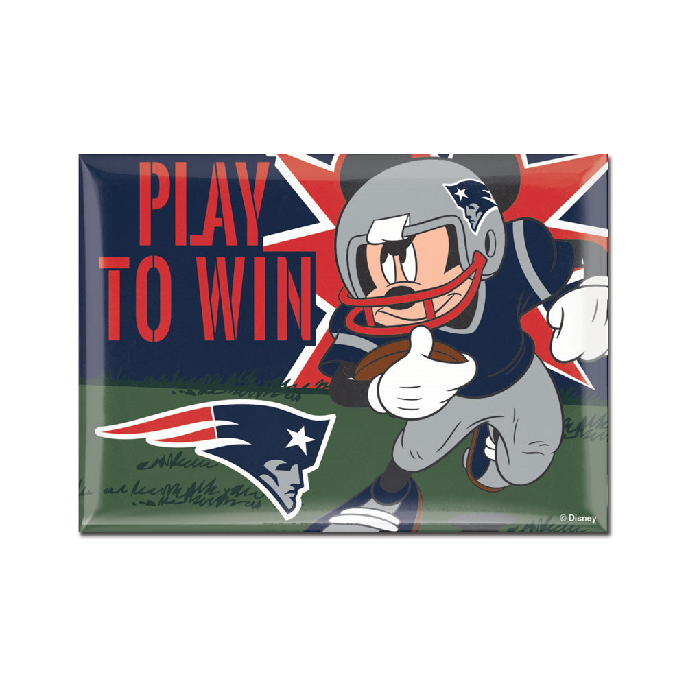Patriots Mickey Mouse Magnet