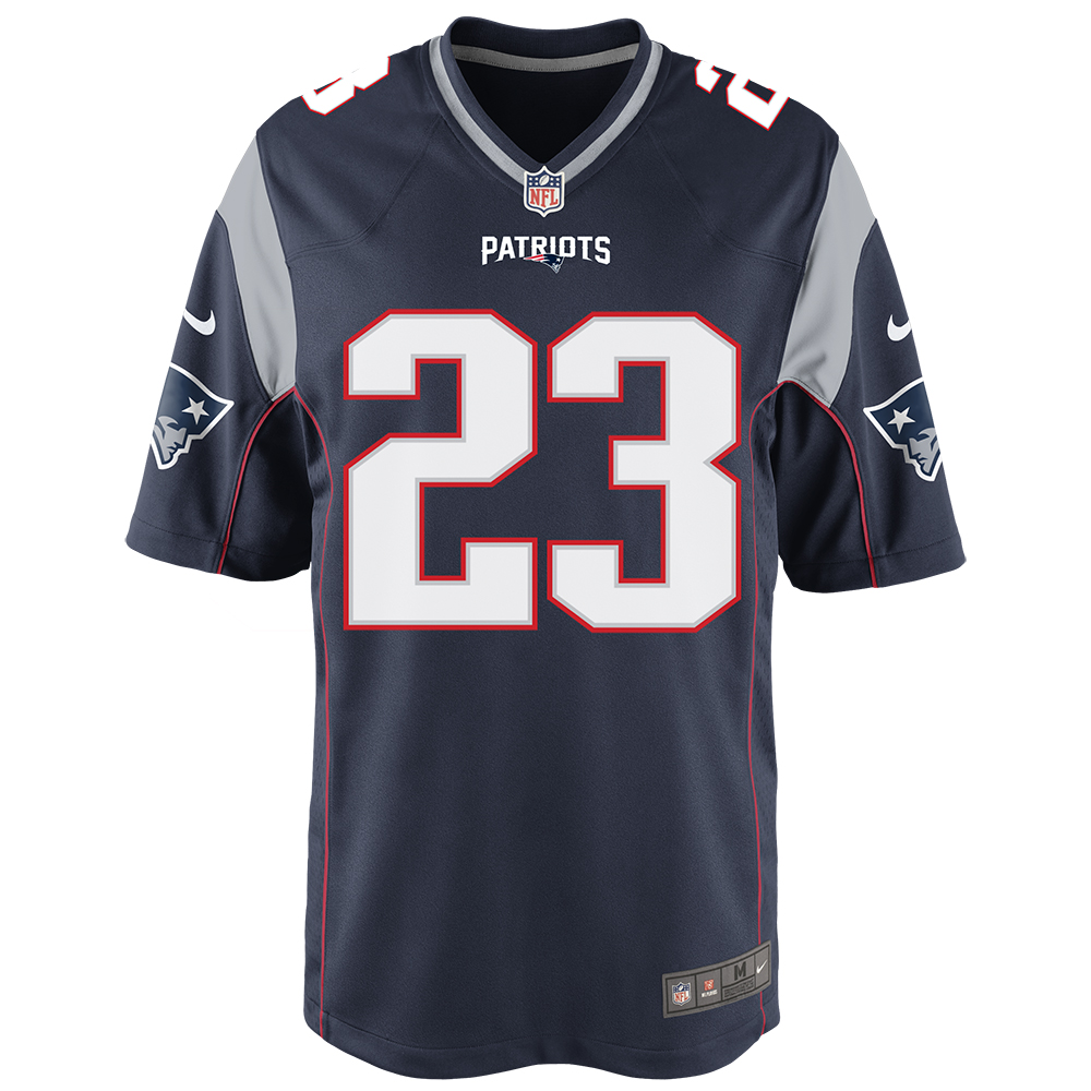 huge discount 2ba43 f54f5 Nike Patrick Chung #23 Game Jersey-Navy - Patriots ProShop