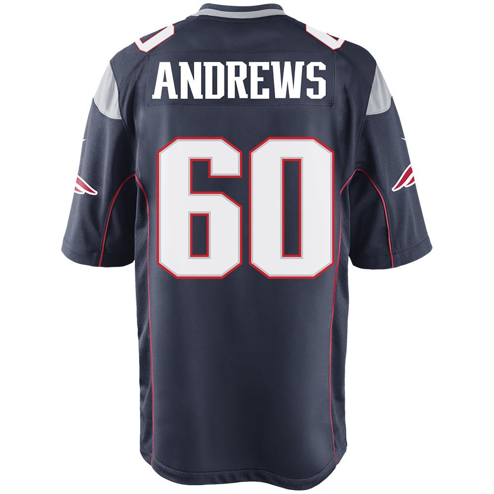david andrews patriots jersey 634b42