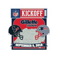 Patriots/Texans Game Day Pin