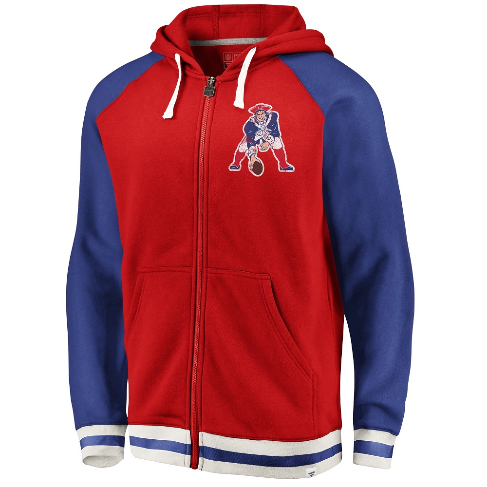 Fanatics Throwback Full Zip Hood