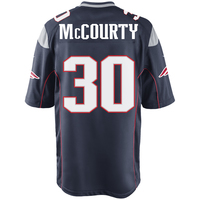 Nike Jason McCourty #30 Game Jersey-Navy