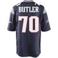 Nike Adam Butler #70 Game Jersey-Navy