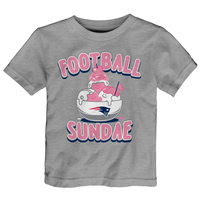 Toddler Football Sundae Tee