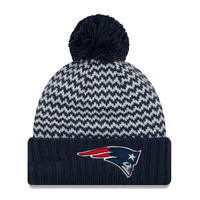 Ladies New Era Pattern Pom Knit