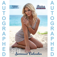 2019 Autographed Patriots Cheerleader Swimsuit Calendar