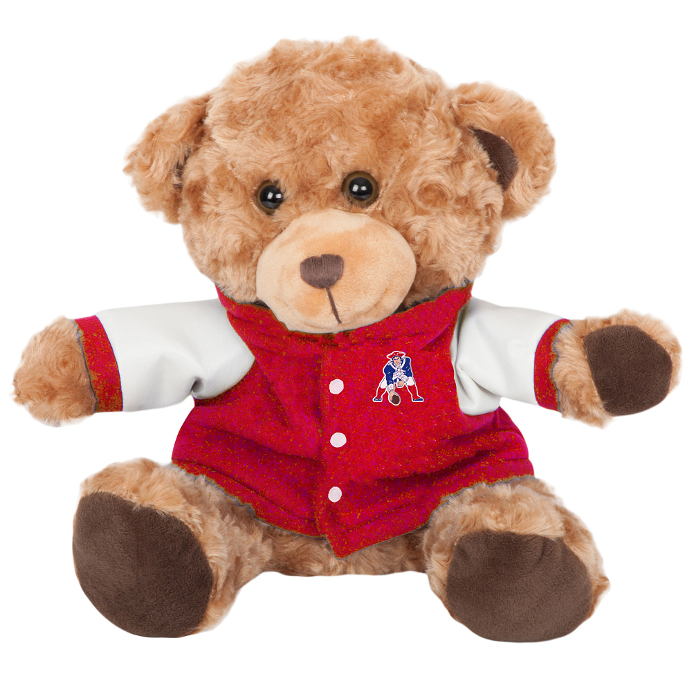 Throwback Plush Brown Bear w/Jacket