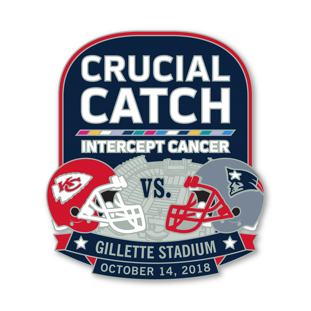 Patriots/Chiefs Game Day Pin