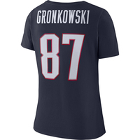 Ladies Nike Gronkowski Name and Number Tee