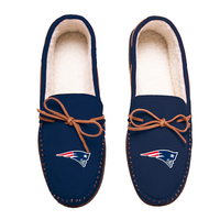 Mens Big Logo Moccasin Slipper