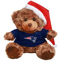 Plush Bear With Santa Hat