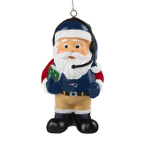 Coach Santa Claus Ornament