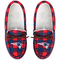 Ladies Flannel Moccasin Slipper