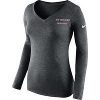 Ladies Nike Long Sleeve Vertical Tee
