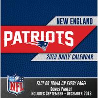 2019 Patriots Box Calendar