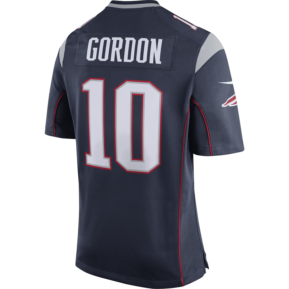 18f11c323da Nike Josh Gordon Game Jersey-Navy - Patriots ProShop