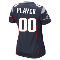Ladies Patriots Player Jersey Custom Navy