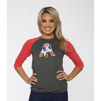 Ladies Nike Long Sleeve Throwback Raglan