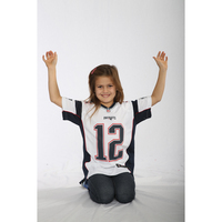 Youth Nike Tom Brady Game Jersey-White