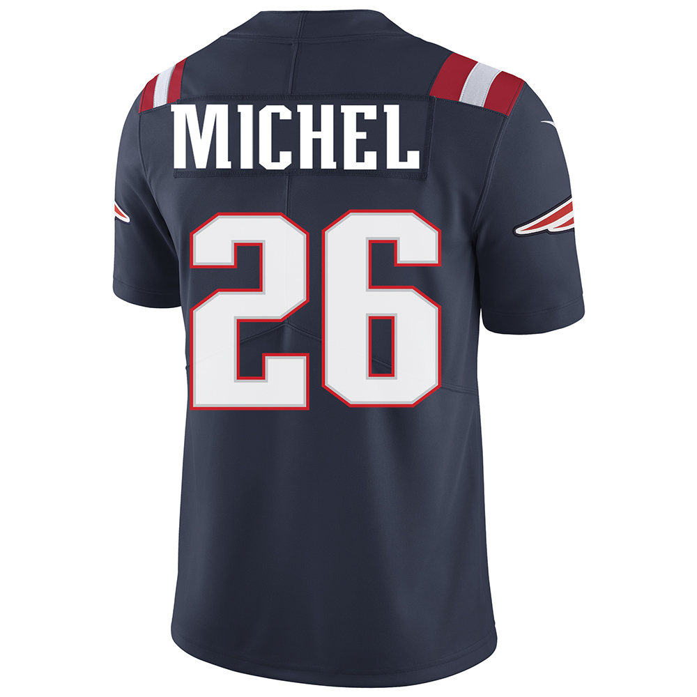 Nike Sony Michel #26 Color Rush Limited Jersey-Navy